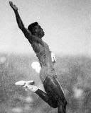 Carl Lewis, olympien Photographie stock