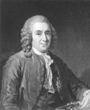Carl Linnaeus Fotografía de archivo libre de regalías