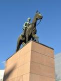 Carl Mannerheim Equestrian Statue fotografia stock libera da diritti