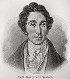 Carl Maria von Weber Royalty Free Stock Photos