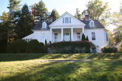 Carl Sandburg Historic Home Fotografie Stock Libere da Diritti
