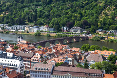 Carl Theodor Bridge in Heidelberg Royalty Free Stock Photography