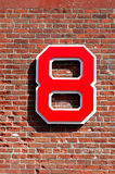 Carl Yastrzemski retired number Stock Photo