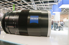 Carl zeiss optics maker Royalty Free Stock Photography