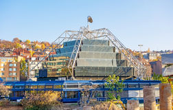 Carl-Zeiss Planetarium Stuttgart Stock Photo