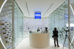 Carl Zeiss Shop in Bangkok, Thailand Stock Images