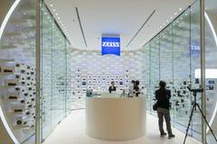 Carl Zeiss Shop em Banguecoque, Tailândia Imagens de Stock