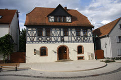 Carl Zuckmaier-Geburtshaus Stockfotografie