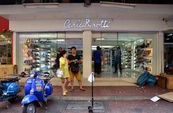 Carla Berotti shoe store Royalty Free Stock Photos