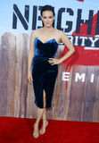 Carla Gallo. At the Los Angeles premiere of 'Neighbors 2: Sorority Rising' held at the Regency Village Theatre in Westwood, USA on May 16, 2016 royalty free stock image