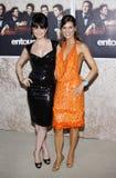 Carla Gugino et Perrey Reeves photo stock