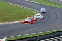 Carlao and Pizzonia Racing Cars Interlagos Brazil Royalty Free Stock Images
