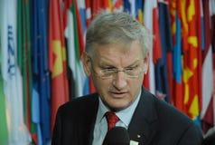 Carld Bildt Foto de archivo libre de regalías