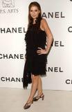 Carle Steele in Chanel en P.S. de Partij van Kunsten. Chanel Beverly Hills Boutique, Beverly Hills, CA. 09-20-07 Royalty-vrije Stock Afbeeldingen