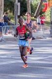 Carles Castillejo of Spain and Michael Bett of Kenya Stock Photo