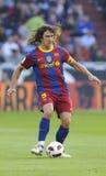 Carles Puyol Foto de Stock Royalty Free