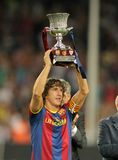 Carles Puyol of Barcelona Royalty Free Stock Image