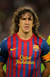 Carles Puyol of FC Barcelona Stock Photo