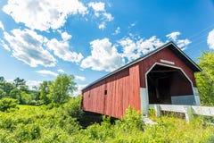 Carleton Covered Bridge stockfoto