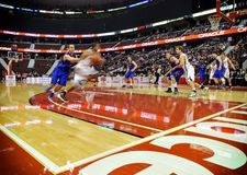 Mężczyzna koszykówki CIS finały Zdjęcie Stock