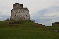 Carleton Martello Tower no dia nebuloso Imagem de Stock Royalty Free