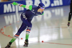 Carlijn Achtereekte - speed skating Royalty Free Stock Photos