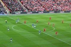carling введение мяча в игру финала кубка стоковое изображение