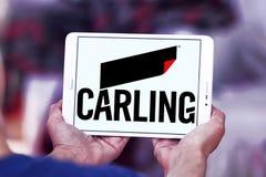 Carling browaru firmy logo Zdjęcie Royalty Free