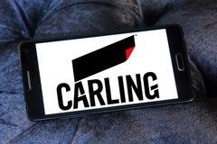 Carling browaru firmy logo Zdjęcie Stock