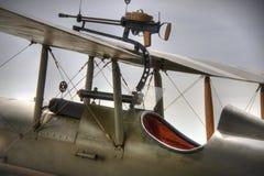Carlinga británica de WWI SE5a Fotos de archivo libres de regalías