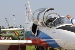 Carlinga de aero- L 39 Albatros - Imágenes de archivo libres de regalías