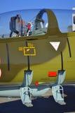 Carlinga de aviones de L-39ZA Albatros Imágenes de archivo libres de regalías
