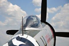 Carlinga del aeroplano Imágenes de archivo libres de regalías
