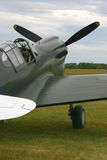 Carlinga del avión de combate Fotos de archivo libres de regalías