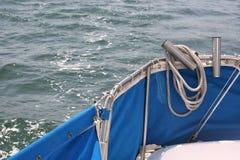 Carlinga del barco de vela Foto de archivo libre de regalías