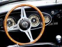 Carlinga del coche de la vendimia Imágenes de archivo libres de regalías