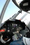 Carlinga del helicóptero Fotos de archivo