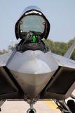 Carlinga del rapaz F-22 Imágenes de archivo libres de regalías