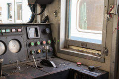 Carlinga del tren tailandés Fotografía de archivo libre de regalías