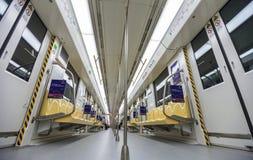 Carlingue de métro Photos libres de droits