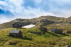 Carlingue de montagne Photo stock