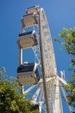 Carlingues de la roue de cap au bord de mer de V&A à Cape Town photographie stock libre de droits