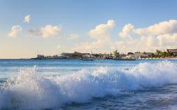 Carlisle Bay in Bridgetown, Barbados Royalty Free Stock Photography