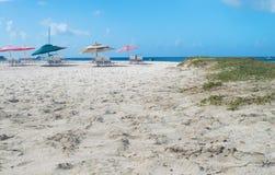 Carlisle Bay et plage Barbade Images libres de droits