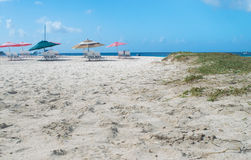 Carlisle Bay y playa Barbados Imágenes de archivo libres de regalías