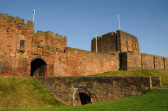 Carlisle Castle. Front view Carlisle Castle taken on Remembrace Sunday Royalty Free Stock Images