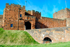 Carlisle Castle. Is situated in Carlisle, in the English county of Cumbria, near the ruins of Hadrians Wall. The castle is over 900 years old and has been the Royalty Free Stock Images