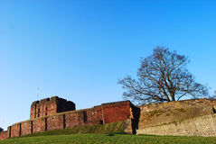 Carlisle Castle. 's old wall Stock Photo