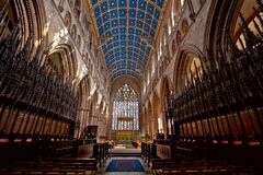 Carlisle Cathedral Royalty Free Stock Images