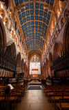 Carlisle Cathedral inre Royaltyfri Fotografi